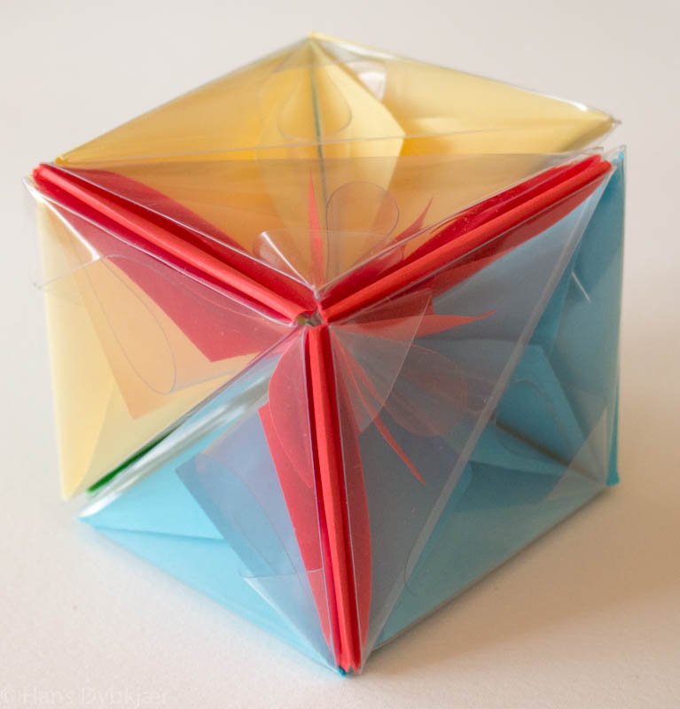 Origami A Cube Puzzle