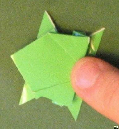 origami frø