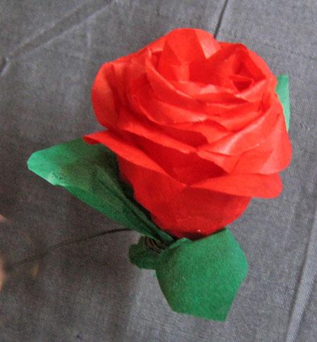 Hvordan passer man roser i vase