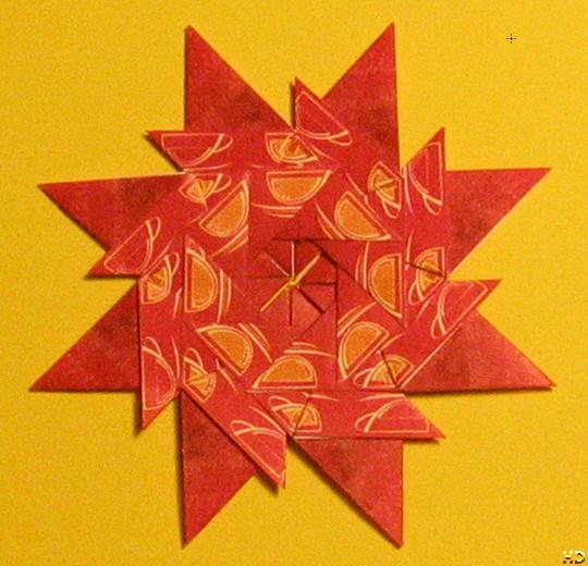Origami: Teposefoldning - uge 4, 2007